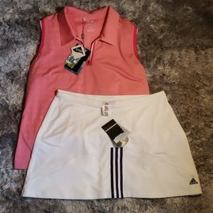 NWT Adidas skirt and top XL